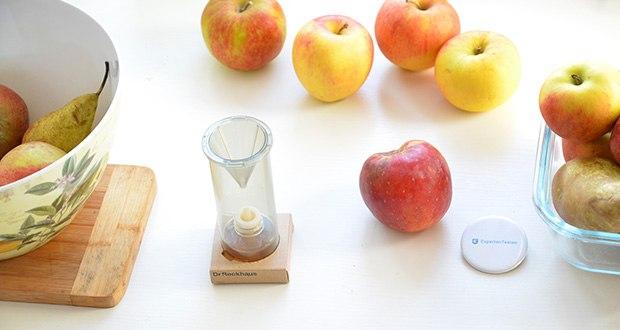 Dr. Reckhaus Fruchtfliegen-Retter mit Nachfüller im Test - natürlicher Lockstoff für 6 – 8 Wochen