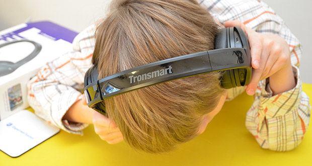 Bluetooth Kopfhörer Tronsmart Apollo Q10 im Test - die tatsächlichen Ergebnisse können je nach Musikgenre, Lautstärke, Umgebungstemperatur und mehr variieren