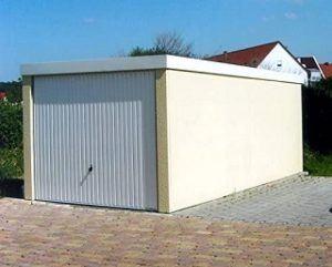 Eine Fertiggarage aus Beton im Preisvergleich