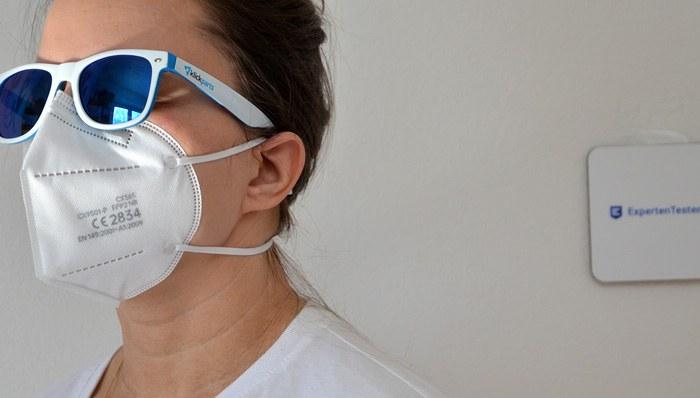 Atemschutzmasken im Test auf ExpertenTesten.de