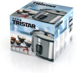 Verpackung des Tristar Reiskochers