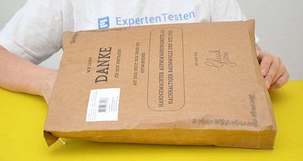 Glückstoff Aufbewahrungsbox 3er-Set aus Stoff im Test - Familienunternehmen spezialisiert auf die Herstellung von plastikfreien Haushaltsprodukten aus natürlichen Stoffen
