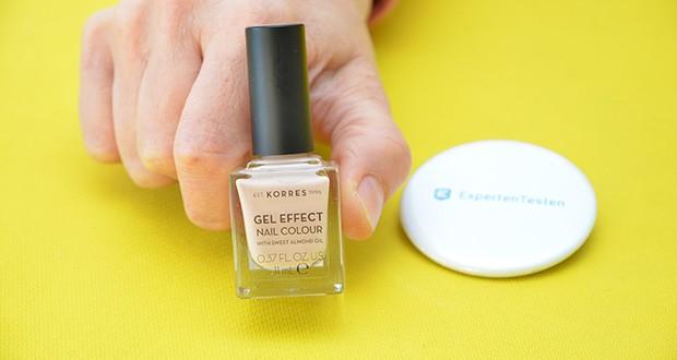 Korres Sweet Almond Oil Gel Effekt Nagellack im Test - ein neuer Nagellack mit Gel-Effekt