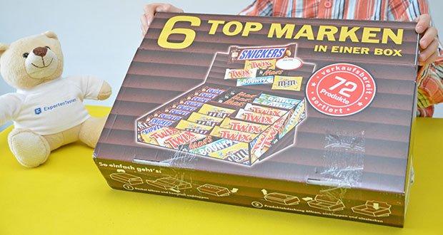 Mars Mixed Box Schokoriegel im Test - 1x Packung mit 72 Riegeln (1 x 3,6 kg)