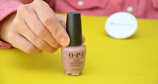 OPI Nail Lacquer Nagellack im Test - in Nudetönen