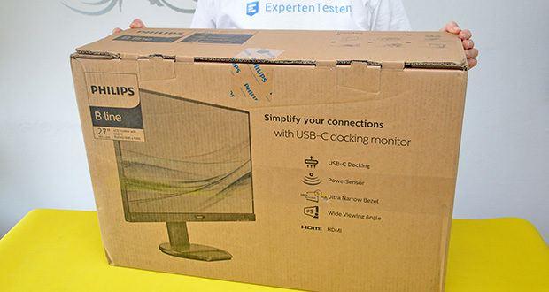Philips 273B9 27 Zoll Monitor im Test - Herstellergarantie: 3 Jahre