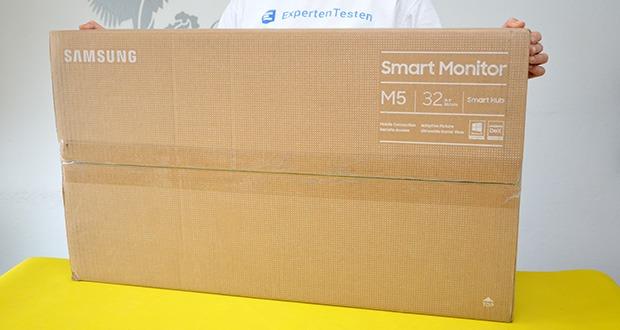Samsung M5 Smart Monitor 32 Zoll im Test - Modellnummer : LS32AM502NUXEN