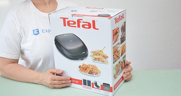Tefal Snack Time SW341B Waffeleisen & Sandwichtoaster im Test - Leistung: 700 Watt