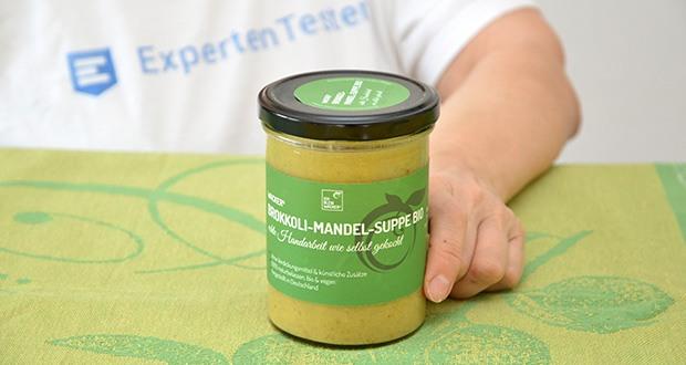 Wacker Brokkoli-Mandel-Suppe Bio im Test - wie selbst gekocht - ohne Verdickungsmittel & künstliche Zusätze