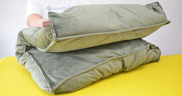 Beeztees K&Bz Hundebett Nalino im Test - Farbe: grün