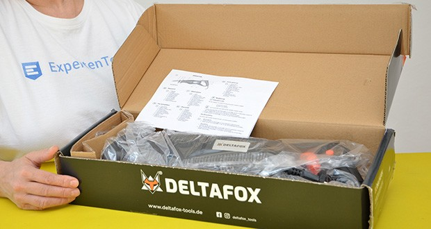 Deltafox Elektro Säbelsäge DP-ERS 8010 im Test - leistungsstarker 800W Motor