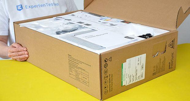 Lenovo Q24h-10 24 Zoll Monitor im Test - TÜV Eye Comfort zertifiziert