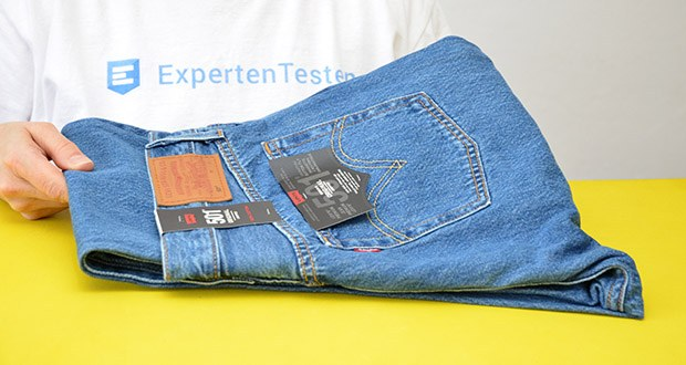 Levi's Damen 501 Crop Straight Jeans im Test - 5 Pocket Design