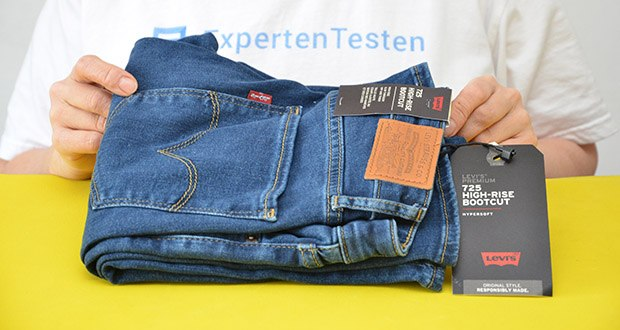 Levi's Damen 725 High Rise Bootcut Jeans im Test - eine klassische, die Beine verlängernde Silhouette