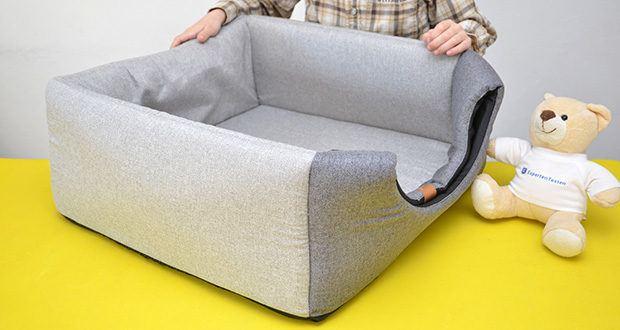 Rexproduct Up and Down Premium Hundehütte & Hundebett im Test - modernes Design