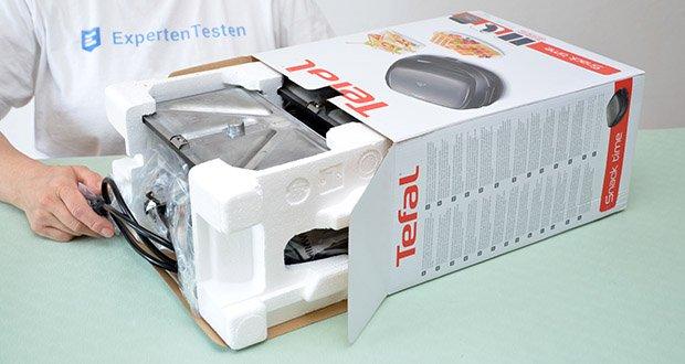 Tefal Snack Time SW341B Waffeleisen & Sandwichtoaster im Test - kompatibel mit weiteren Platten-Sets der Tefal Snack Colelction für unendliche Vielseitigkeit