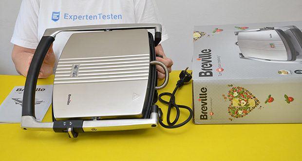 Breville Panini Grill Sandwichtoaster im Test - grillt bis zu 4 Sandwiches gleichzeitig