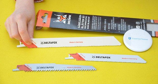 DELTAFOX 3er Pack Säbelsägeblätter im Test - 'Made in Germany'