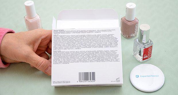 """Essie Nagellack-Geschenkset """"Goodbye Miss. Hello Mrs."""" Im Test - einfaches und sauberes Abnehmen mit Nagellackentferner"""