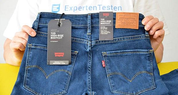 Levi's Damen 725 High Rise Bootcut Jeans im Test - für einen zeitlosen Stil und Komfort den ganzen Tag