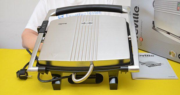 Breville Panini Grill Sandwichtoaster im Test - mit nützlichen und benutzerfreundlichen Funktionen ausgestattet