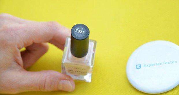 Korres Sweet Almond Oil Gel Effekt Nagellack im Test - angereichert mit Provitamin B5