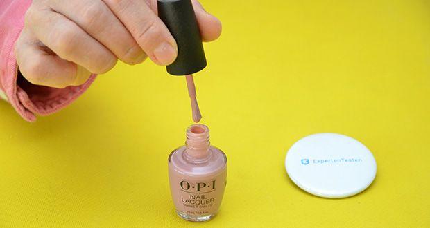 OPI Nail Lacquer Nagellack im Test - für bis zu 7 Tage Halt