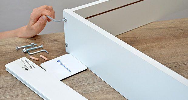 roba Wickelplatte mit Wickelauflage im Test - alle Materialien sind schadstoffgeprüft, zertifiziert und werden regelmässig während der Produktion getestet