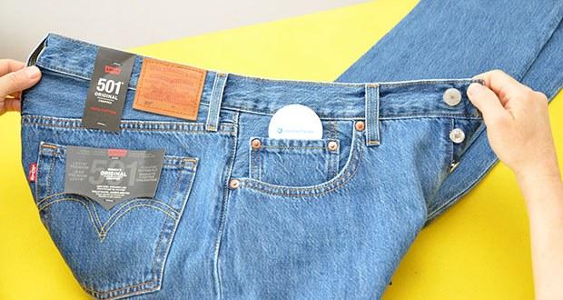 Levi's Damen 501 Crop Straight Jeans im Test - mit geringem Stretchanteil