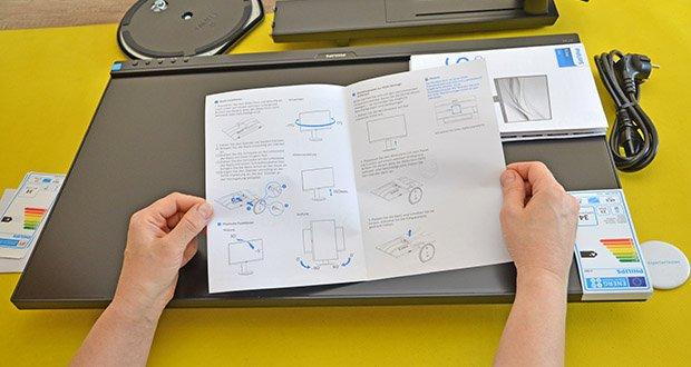 Philips 273B9 27 Zoll Monitor im Test - ermöglicht Ihnen USB-C, Ihr Notebook ohne weiteres Kabel mit Strom vom Monitor zu betreiben und aufzuladen