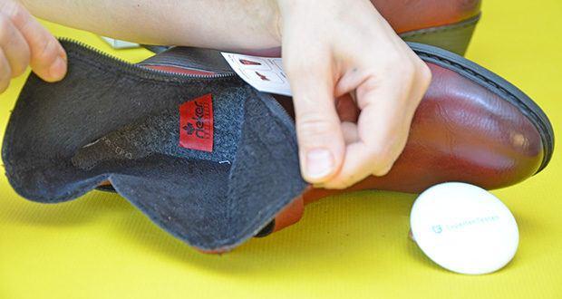 Rieker Damen Stiefel im Test - Futtermaterial: gefüttert 100% Polyester
