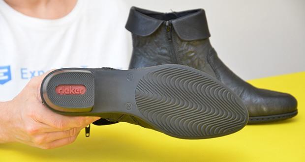 Rieker Damen Mode-Stiefel im Test - Sohle: Synthetik