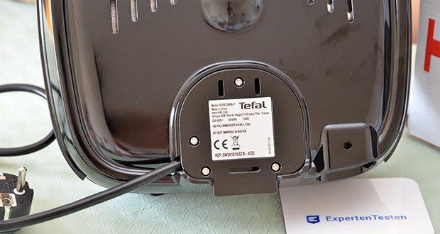 Tefal Snack Time SW341B Waffeleisen & Sandwichtoaster im Test - Kabelaufwicklung