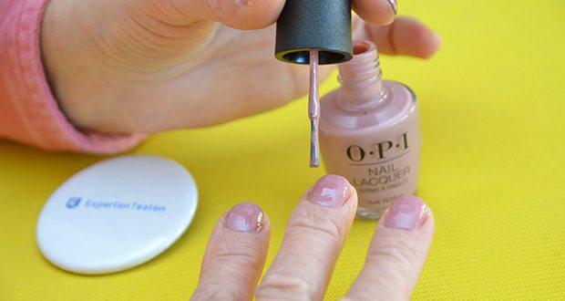 OPI Nail Lacquer Nagellack im Test - mit exklusiven Pinsel für ein einfaches und makelloses Auftragen