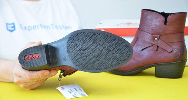 Rieker Damen Stiefel im Test - Sohle: Gummi