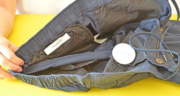 Amazon Essentials Herren-Jogginghose Navy im Test - Material: 97% Baumwolle, 3% Elasthan