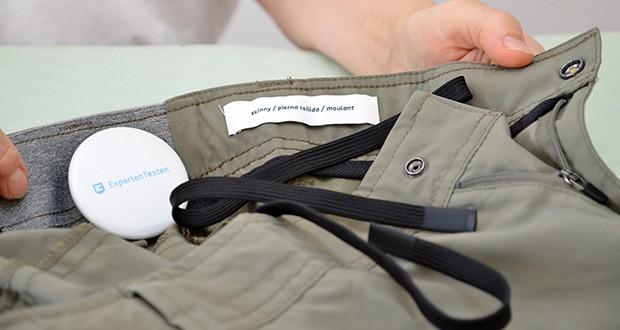Amazon Essentials Herren Pants Olivgrün im Test - Verschluss: Knopfleiste