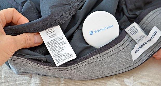 Amazon Essentials Herren Pants Schwarz im Test - Pflegehinweis: Maschinenwäsche