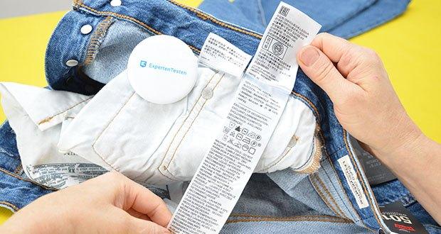 Levi's Damen 501 Crop Straight Jeans im Test - Material: 100% Baumwolle