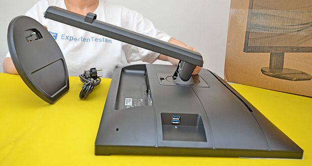 Philips 273B9 27 Zoll Monitor im Test - abnehmbarer Standfuss