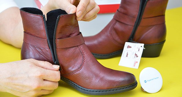 Rieker Damen Stiefel im Test - Verschluss: Reißverschluss