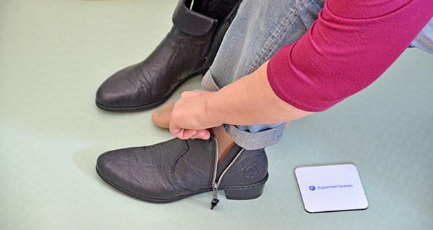Rieker Damen Mode-Stiefel im Test - eine optimale Schockabsorption auf verschiedenen Oberflächen