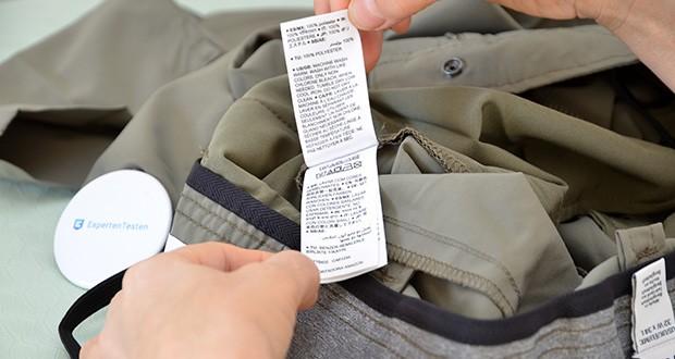 Amazon Essentials Herren Pants Olivgrün im Test - Pflegehinweis: Maschinenwäsche