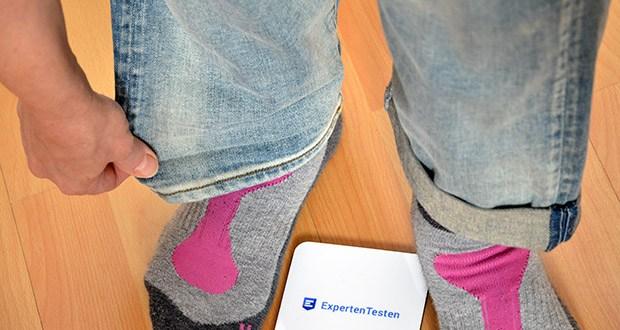 G-STAR RAW Damen Kate Boyfriend Jeans im Test - Knöchel: Weites Bein