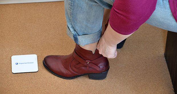Rieker Damen Stiefel im Test - Absatzform: Blockabsatz, Absatzhöhe: 4.2 cm