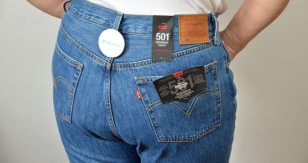Levi's Damen 501 Crop Straight Jeans im Test - praktisch und stylish zugleich