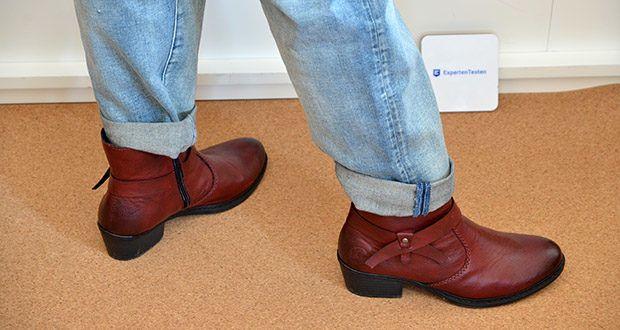 Rieker Damen Stiefel im Test - optimale Schockabsorption auf verschiedenen Oberflächen