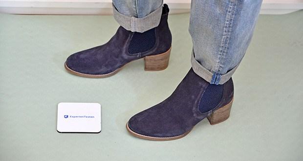 Tamaris Damen Stiefeletten im Test - ein Schuh, viel Weißfläche und jede Menge Raum für Fantasie