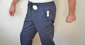 Amazon Essentials Herren-Jogginghose Navy im Test - elastische Bündchen und eine Slim-Fit-Passform