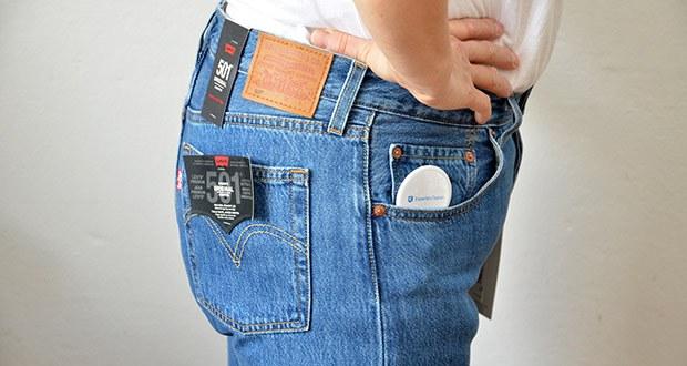 Levi's Damen 501 Crop Straight Jeans im Test - sehr bequeme Jeans